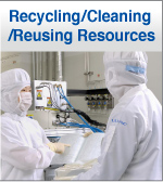 Reccling/Cleaning/Reusing Resources